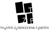 Logo - Theater Zerbrochene Fenster