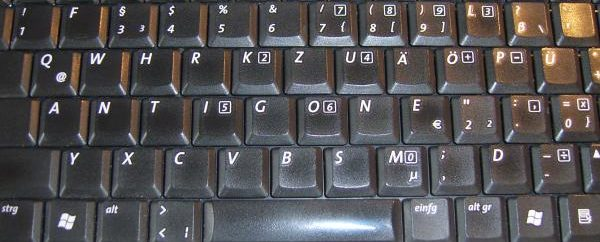 Antigone-Tastatur II