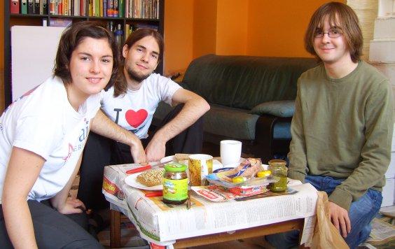 Spaß mit Styropor: Das Frühstück