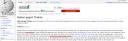 Screenshot des Wikipedia-Artikels Sieben gegen Theben