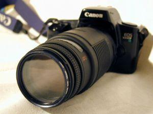 Canon EOS Spiegelreflexkamera