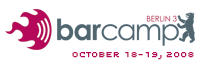 BarCamp Berlin 3 Logo
