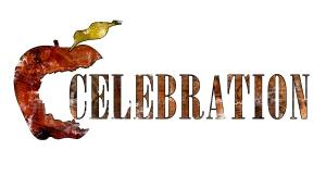Das Logo von Celebration - einem Theaterfest von hierLeben unter Regie von Martin Berger