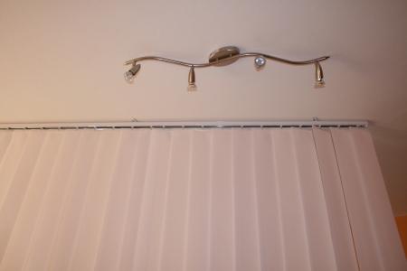 Der Probenvorhang in meinem Büro