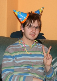Stefan will gut behütet sein. Foto vom 10.02.2009.