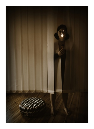 Antigone mit Taschenlampe. Foto vom 15.03.2009.