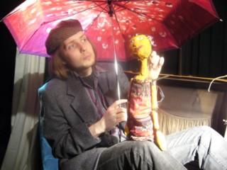 Tim Sandweg, Mitbegründer und Bühnenbildner von hierLeben