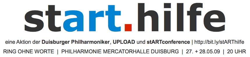 Logo der Aktion stART.hilfe