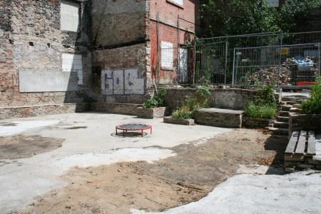 Geplanter Ort für die Agora des Antikenfestivals ANTIKEKSTASE