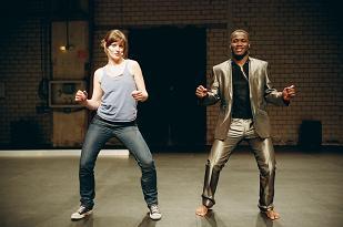 Cornelia Dörr und Franck Edmond Yao in Othello cest qui? Foto: Knut Klaßen