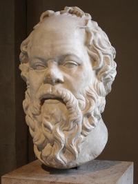 Sokratesbüste im Louvre. Foto: Eric Gaba