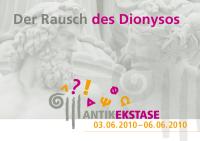 Flyer fürs Festival ANTIKEKSTASE: Der Rausch des Dionysos (Anklicken zum Vergrößern)