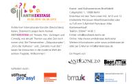 Flyerrückseite fürs Festival ANTIKEKSTASE (Anklicken zum Vergrößern)